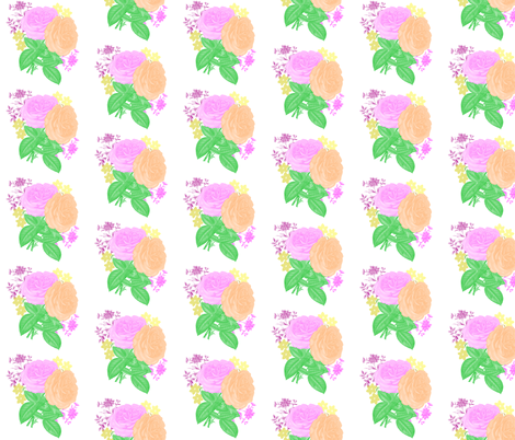 Flowers fabric by lanrete58 on Spoonflower - custom fabric