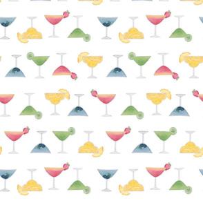 watercolour cocktails medium
