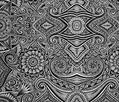 Chaos fabric by keanebean on Spoonflower - custom fabric