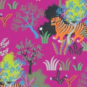 tiger tiger (fuchsia)