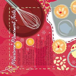 Macaroon Mincemeat Tarts