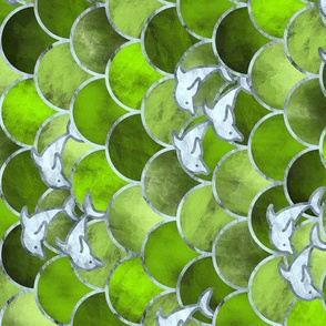 Wave Jumpers (Green) / Tilted