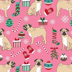 pug fabric, pug dog fabric, pug c