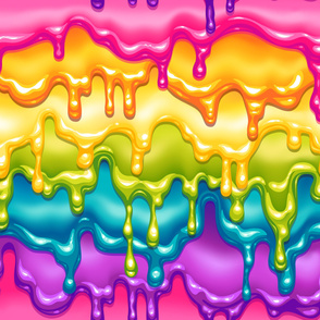 Rainbow Awesome Sauce 24x24