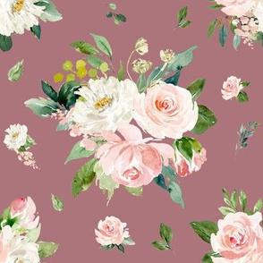 "8"" Eternal Blush Florals // Coral Tree"