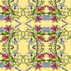 Floral plaid lV