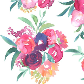 Sunday Brunch Floral Large Repeat