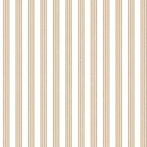 Quad Stripes - Carmel Linen