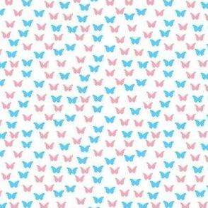 28Gifts Trans Pride Butterflies