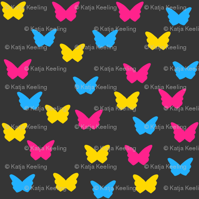 28Gifts Pan Pride Butterflies Dark