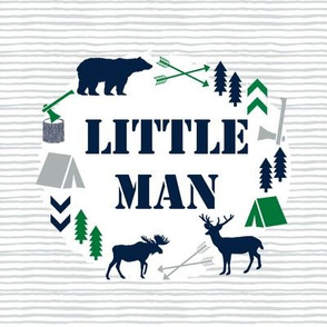 "little man 8"" square patch"