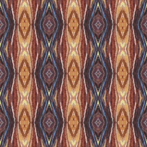 Brown Blue Abstract Painted Design  | Artistic Texture
