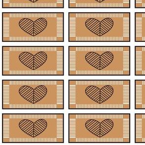 Jewish Heart (brown)