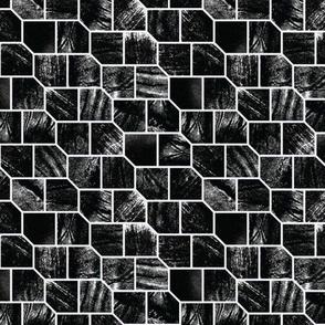pulled teeth and pentagonal tessellations no. 2