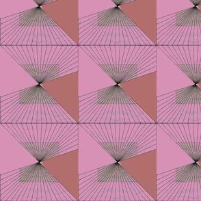 Geometric - fucsia