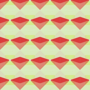 Geometric - red