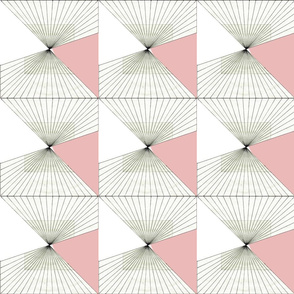 Geometric - rose 2