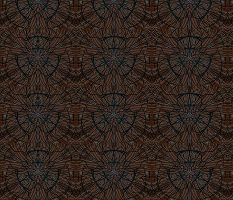 Throwin' it back fabric by hellofelecia on Spoonflower - custom fabric