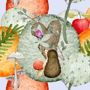 Gender Neutral Nursery Woodland Wonder (jumbo)