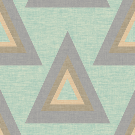 AND Triangles 4 fabric by anniedeb on Spoonflower - custom fabric