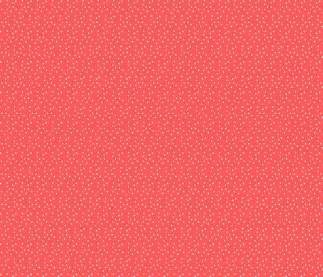Women in Head Scarves dots in Coral fabric by mariakentstudio on Spoonflower - custom fabric