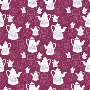 Vintage teapots