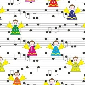 Musical Christmas Angels