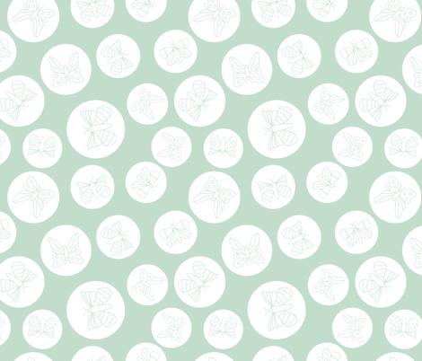 Butterfly hoops fabric by fleur_&_grace on Spoonflower - custom fabric