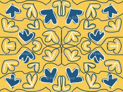 1930s Floral Tiling