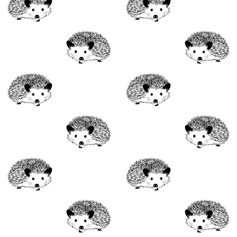hedgehogs  fabric by stofftoy on Spoonflower - custom fabric