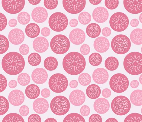 Flower power fabric by fleur_&_grace on Spoonflower - custom fabric