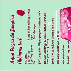 Jamaica Hibiscus Tea