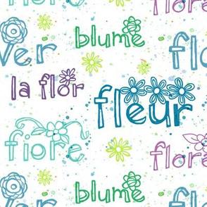 Flower Flora Fleur