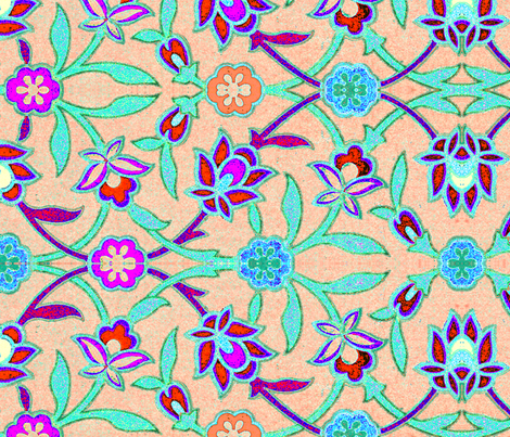 indo-persian 462 fabric by hypersphere on Spoonflower - custom fabric
