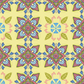 IndiaHanddrawn-FloralTile