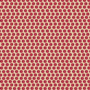 cranberry repeat dotty-pale tan