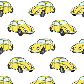 yellow bugs -  beetle car