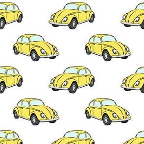 yellow bugs -  beetle car