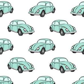 mint bugs - beetle car