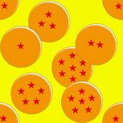 Dragon Ball Inspired Pattern Balls