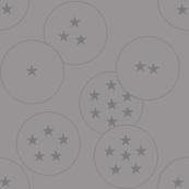 Dragon Ball Inspired Pattern Gray