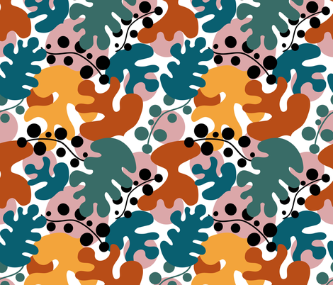 Henri autumn design fabric by lauranor on Spoonflower - custom fabric