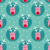 Rudolph on green