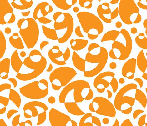OctoberAbstract fabric by lisa_travis on Spoonflower - custom fabric