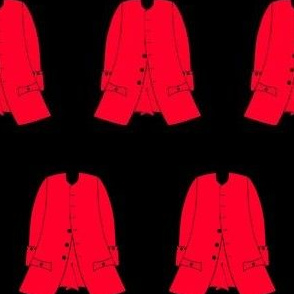 A new red coat for Mr Scarlet