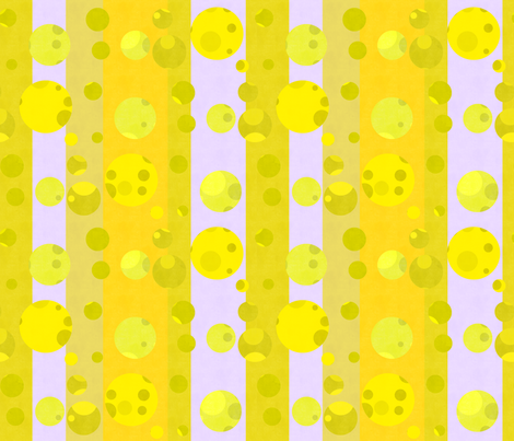sunny stripes and dots fabric by variable on Spoonflower - custom fabric
