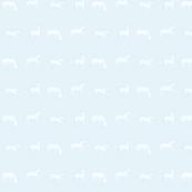 Flock of Lambs light blue