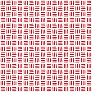 Trois Allumettes Solid in Red