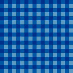 blue vichy