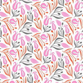 deco tulip_13.5_pink orange